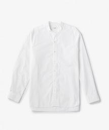 USBS 府綢立領襯衫