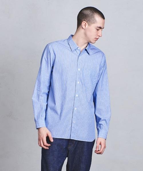 UASB 相間條紋襯衫
