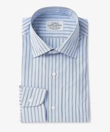UADT 相間條紋寬角領襯衫