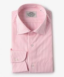 UDET 糖果色條紋寬角領襯衫