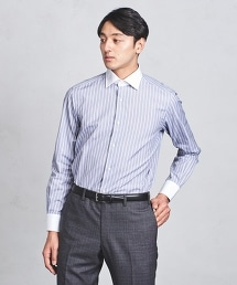 UADT 條紋牧師領襯衫
