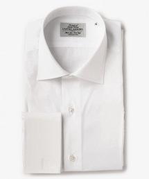 UDBS 府綢寬角領雙疊袖襯衫