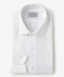UDBS 純白人字呢寬角領襯衫