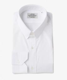 UDET 白色府綢扣帶領襯衫