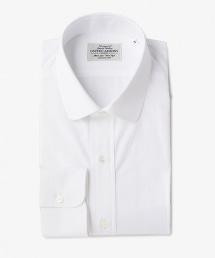 UDET 白色府綢圓領襯衫