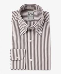 <SOVEREIGN> 倫敦條紋扣領襯衫