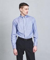 □UADT EASY CARE 千鳥格扣領襯衫