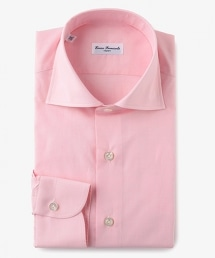 <ERRICO FORMICOLA> G/CHK WD 粉色格子襯衫