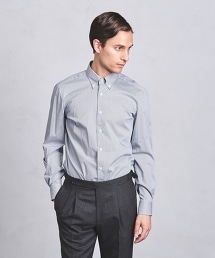 <ERRICO FORMICOLA\> GGM/CHK BD 格紋扣領襯衫