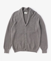USET 絲瓜領對襟毛衣