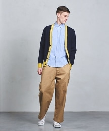 UAST 羅紋線條開襟外套