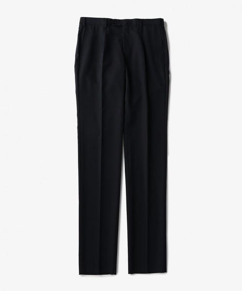 UADT 羊毛滌綸單褶西裝錐形褲
