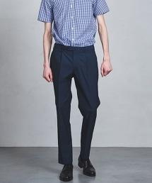 UADT 細格紋 單摺 長褲