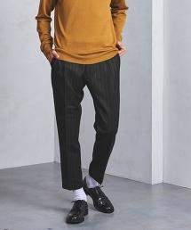 UAST 粉筆條紋(chalk stripe)單褶褲
