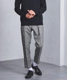 UAST 格倫格紋法蘭絨單褶褲