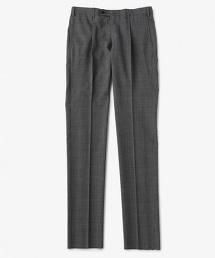 UADT 格倫格紋單褶西裝褲