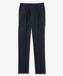 UADT 窗格紋單褶西裝褲