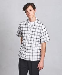 UAST 格紋開領襯衫