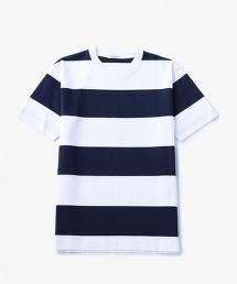 UASB 寬橫條紋T恤
