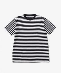USBS SVN 橫條紋圓領中袖T恤