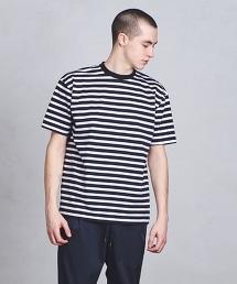 ○UASB  橫條紋短袖T恤