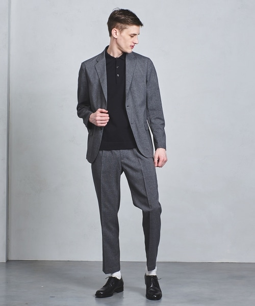 UASB CTY 格倫格紋單排雙釦西裝外套†