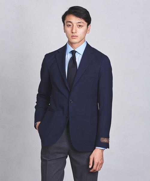 UADT 華夫格素面輕薄舒適西裝外套