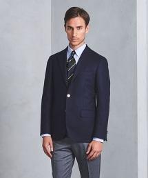 UDET 法蘭絨單排三釦西裝外套