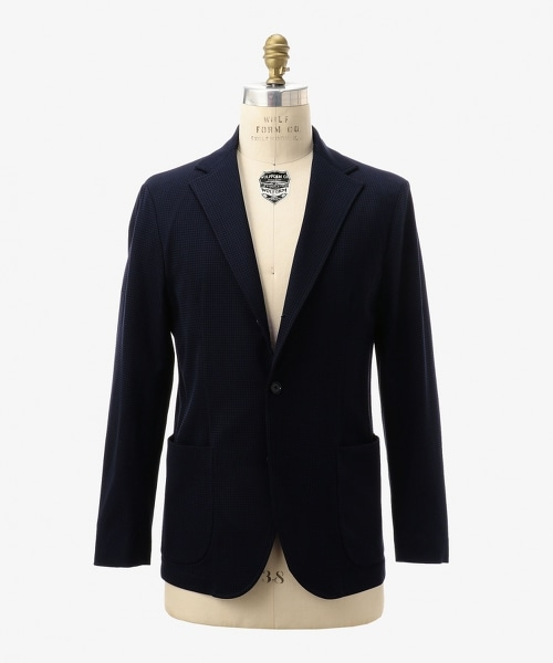 UADB 拉舍爾千鳥格單排三釦西裝外套