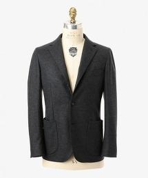 ○UADT 平織布單排三釦西裝外套