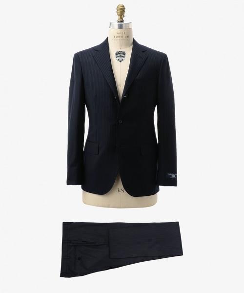 UDET 鉛筆條紋單排三釦西裝套裝