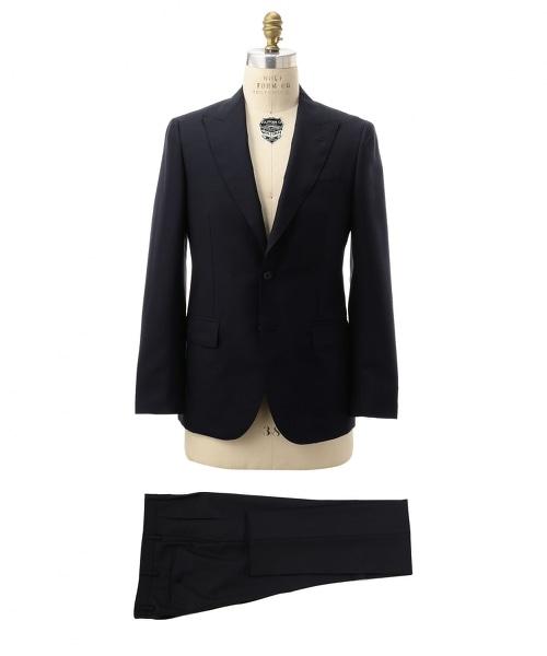 UDET 羊毛馬海毛輕薄劍領舒適西裝(單排雙釦)