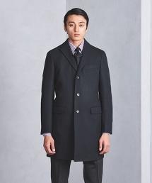 UADB 羊毛平織布查斯特大衣