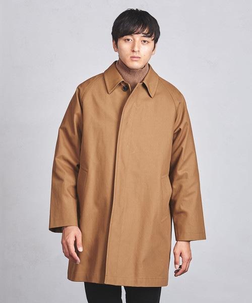 UAHS 雙層織物 巴爾瑪肯領大衣
