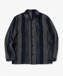 <TEGE UNITED ARROWS>BLUE IKAT C/ALL