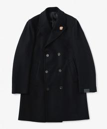 <LARDINI> H/SUCK 雙排三釦查斯特大衣