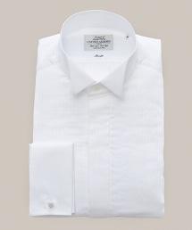 UA FML 燕子領褶皺襯衫