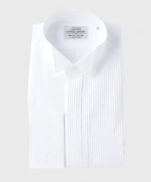 UDBS 燕子領褶皺胸飾襯衫
