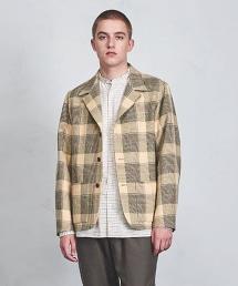 <Camoshita UNITED ARROWS> 格倫格紋 休閒西裝外套