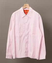【特別訂製】 <RED KAP> PINK STRIPE SHIRT 粉色條紋襯衫