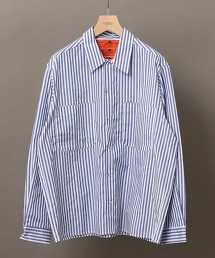 【特別訂製】 <RED KAP> LONDON STRIPE SHIRT 倫敦條紋襯衫