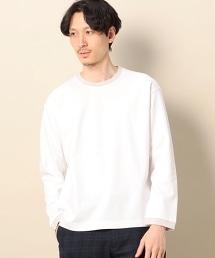 BY 羅馬布 色塊 寬版 棉質T恤