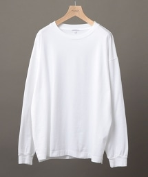 BY 寬版羅紋T恤 -日本製-