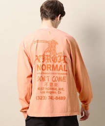 <VIRGIL NORMAL> DON`T COME L/TEE/T恤