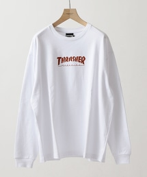 【特別訂製】 <THRASHER> LONG SLEEVE TEE/TEE