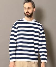 BY 米蘭諾羅紋橫條紋可洗針織上衣