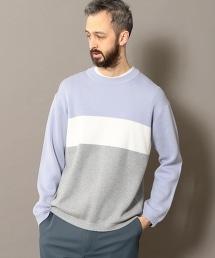 BY 米蘭諾羅紋色塊橫條紋可洗針織上衣