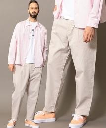 BY 成品染斜紋布長褲