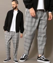 BY 格紋寬鬆輕便褲(EASY PANTS)