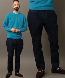 BY 錐形丹寧燈籠褲 -日本製-